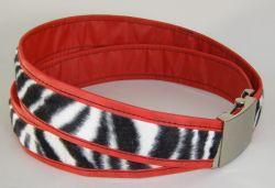 CB red/zebra