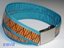 CB Gürtel azul/orange BC