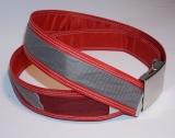 Unikat Gürtel red/grey3